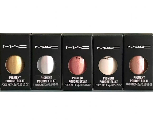 MAC Pigment Loose Powder Eyeshadow (Select Color) 4.5 g/0.15 oz Full Size