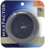 Max Factor Pan-Cake/Pancake Water-Activated Makeup (Select Color) Full-Size Original Blue Case - FragranceAndBeauty.com