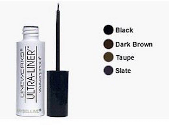 Maybelline (Original) Lineworks Ultra-Liner Waterproof Liquid Eyeliner (Select Color) New Unboxed