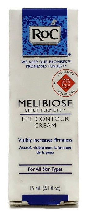 RoC Melibiose Eye Contour Cream 15 ml/.51 oz Full Size - FragranceAndBeauty.com