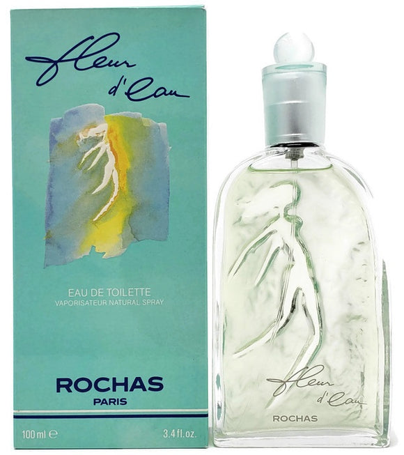 Fleur D'Eau by Rochas for Women 3.4 oz Eau de Toilette Spray - FragranceAndBeauty.com
