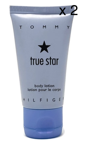 Tommy Hilfiger True Star for Women 30 ml/1 oz Perfumed Body Lotion Unboxed (Lot of 2) - FragranceAndBeauty.com