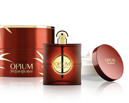 Opium by Yves Saint Laurent for Women 2-Piece Set: 3 oz Eau de Parfum Spray + 6.6 oz Rich Body Creme - FragranceAndBeauty.com