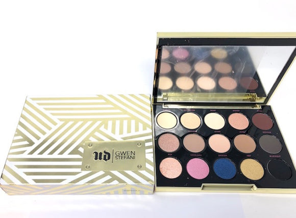 Urban Decay Gwen Stefani 15 Eyeshadows Palette Limited Edition *Imperfect