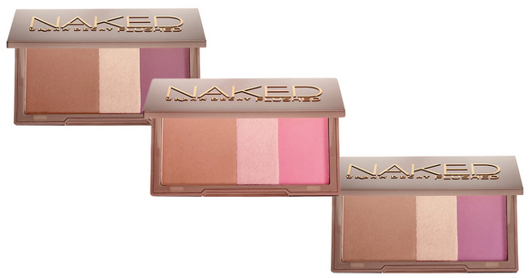 Urban Decay Naked Flushed Palette (Select Color) Bronzer/Highlighter/Blush