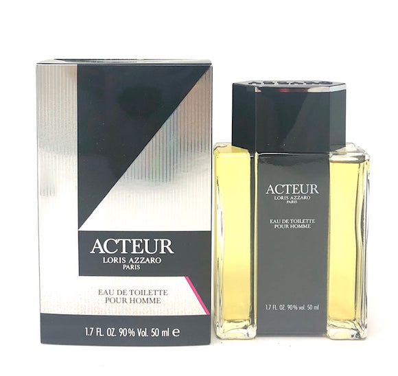 Acteur by Loris Azzaro for Men 1.7 oz Eau de Toilette Splash - FragranceAndBeauty.com
