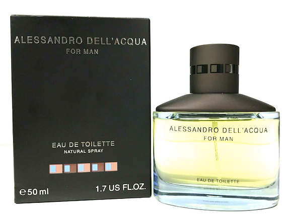Alessandro Dell' Acqua for Men 1.7 oz Eau de Toilette Spray - FragranceAndBeauty.com