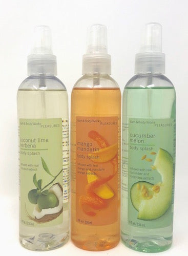 Bath & Body Works Pleasures 8 oz Body Splash/Spray (Select Scent) New - FragranceAndBeauty.com