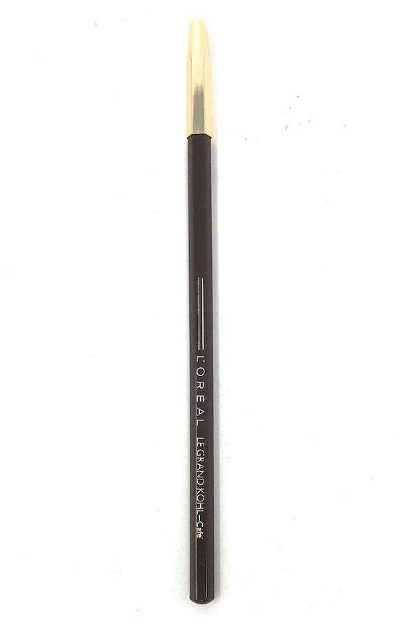 L'Oreal Le Grand Kohl Eyeliner Pencil (Cafe) Full Size Discontinued - FragranceAndBeauty.com