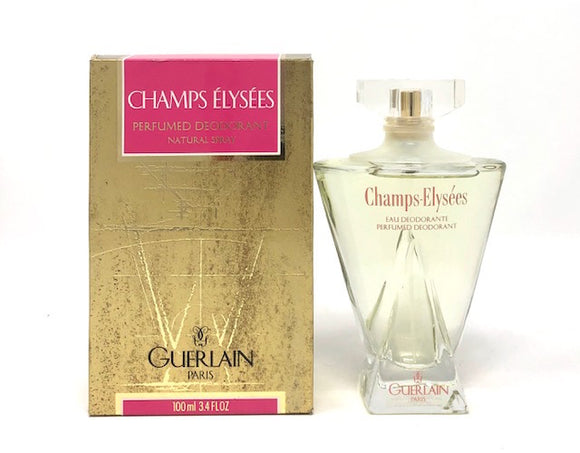 Champs Elysees by Guerlain for Women 3.4 oz Perfumed Deodorant Spray - FragranceAndBeauty.com