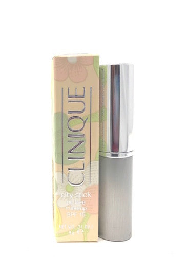 Clinique City Stick Oil-Free Makeup SPF 15 (Select Color) Full Size - FragranceAndBeauty.com