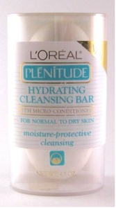 L'Oreal Plentitude Hydrating Cleansing Bar 4.5 oz For Normal to Dry Skin - FragranceAndBeauty.com