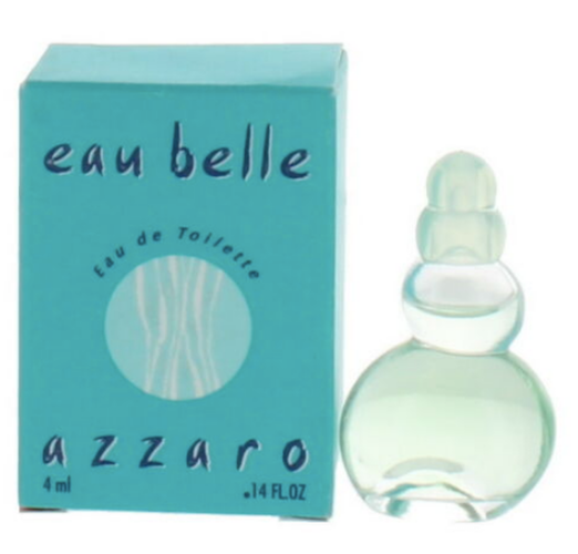 Eau Belle (Vintage) by Azzaro for Women 4 ml/.14 oz Eau de Toilette Mini - FragranceAndBeauty.com