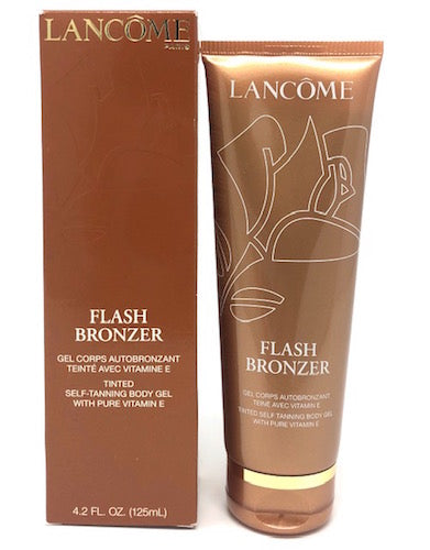 Lancome Flash Bronzer Tinted Self-Tanning Body Gel With Pure Vitamin E (4.2 oz) - FragranceAndBeauty.com