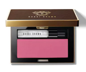 Bobbi Brown Glow To Go Blush & Illuminate Platinum Sparkle Illuminator/French Pink Blush - FragranceAndBeauty.com