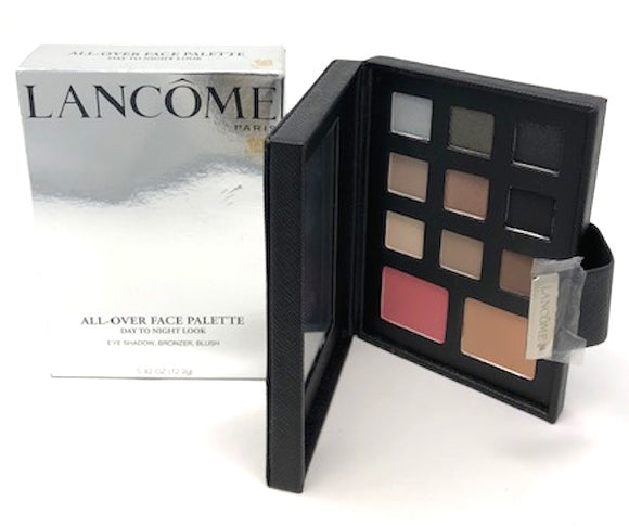 Lancome All-Over Face Palette Day to Night Look (Eyeshadow, Bronzer, Blush) Full Size - FragranceAndBeauty.com