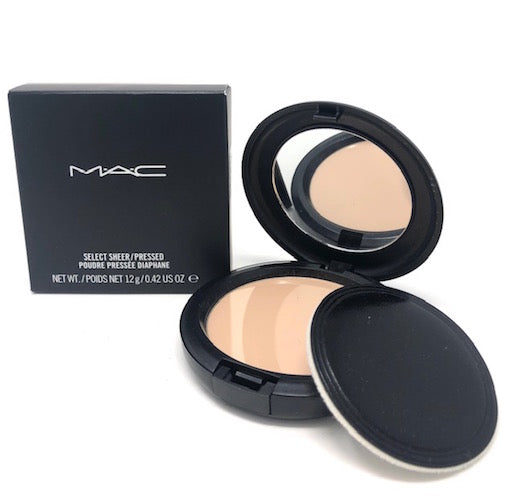 MAC Select Sheer/Pressed Powder (Select Color) 12 g/.42 oz Full Size Discontinued - FragranceAndBeauty.com