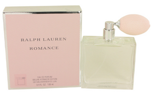 Ralph Lauren Romance for Women 3.4 oz Eau de Parfum Deluxe Atomizer Edition - FragranceAndBeauty.com