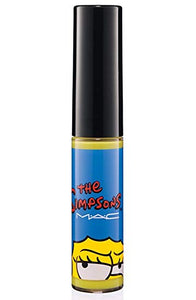 MAC The Simpsons Collection Lipglass Lip Gloss (Nacho Cheese Explosion) - FragranceAndBeauty.com