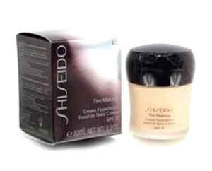 Shiseido The Makeup Cream Foundation SPF 15 (Shade: I40 / I 40 Natural Fair Ivory) 1.2 oz Full Size - FragranceAndBeauty.com