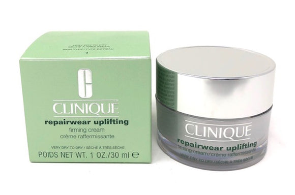 Clinique Repairwear Uplifting Firming Cream (Very Dry to Dry #1) 1 oz - FragranceAndBeauty.com