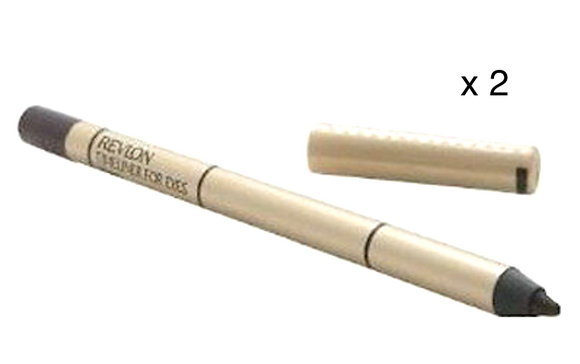 Revlon Timeliner for Eyes Eyeliner Pencil (Vixen) Full Size Discontinued (Lot of 2) - FragranceAndBeauty.com