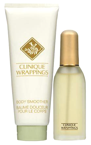 Wrappings by Clinique for Women 2-Piece Set: .85 oz Perfume + 3.4 oz Body Smoother/Lotion - FragranceAndBeauty.com