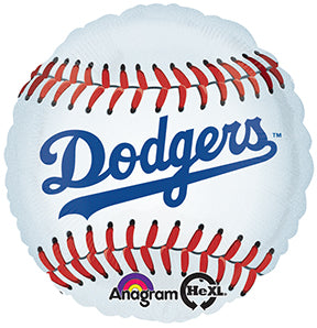 "18"" Los Angeles Dodgers Baseball Balloon"