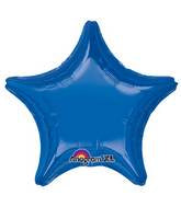 "18"" Dark Blue Decorator Star"
