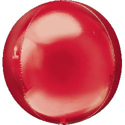 "16"" Red Orbz Foil Balloon"