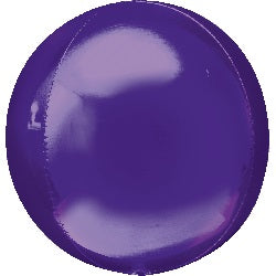 "16"" Purple Orbz Foil Balloon"