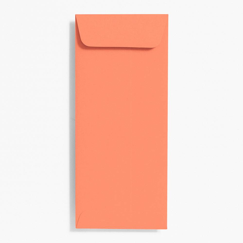 Open End Papaya Envelopes