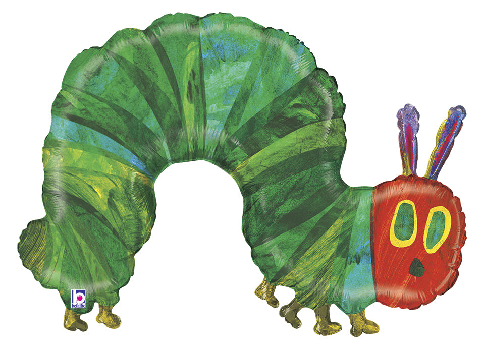 "43"" Foil Balloon Licensed Hungry Caterpillar"
