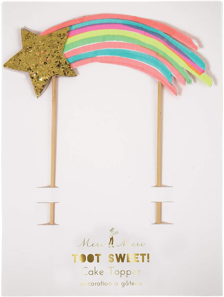 Birthday Cake Topper - Shooting Star