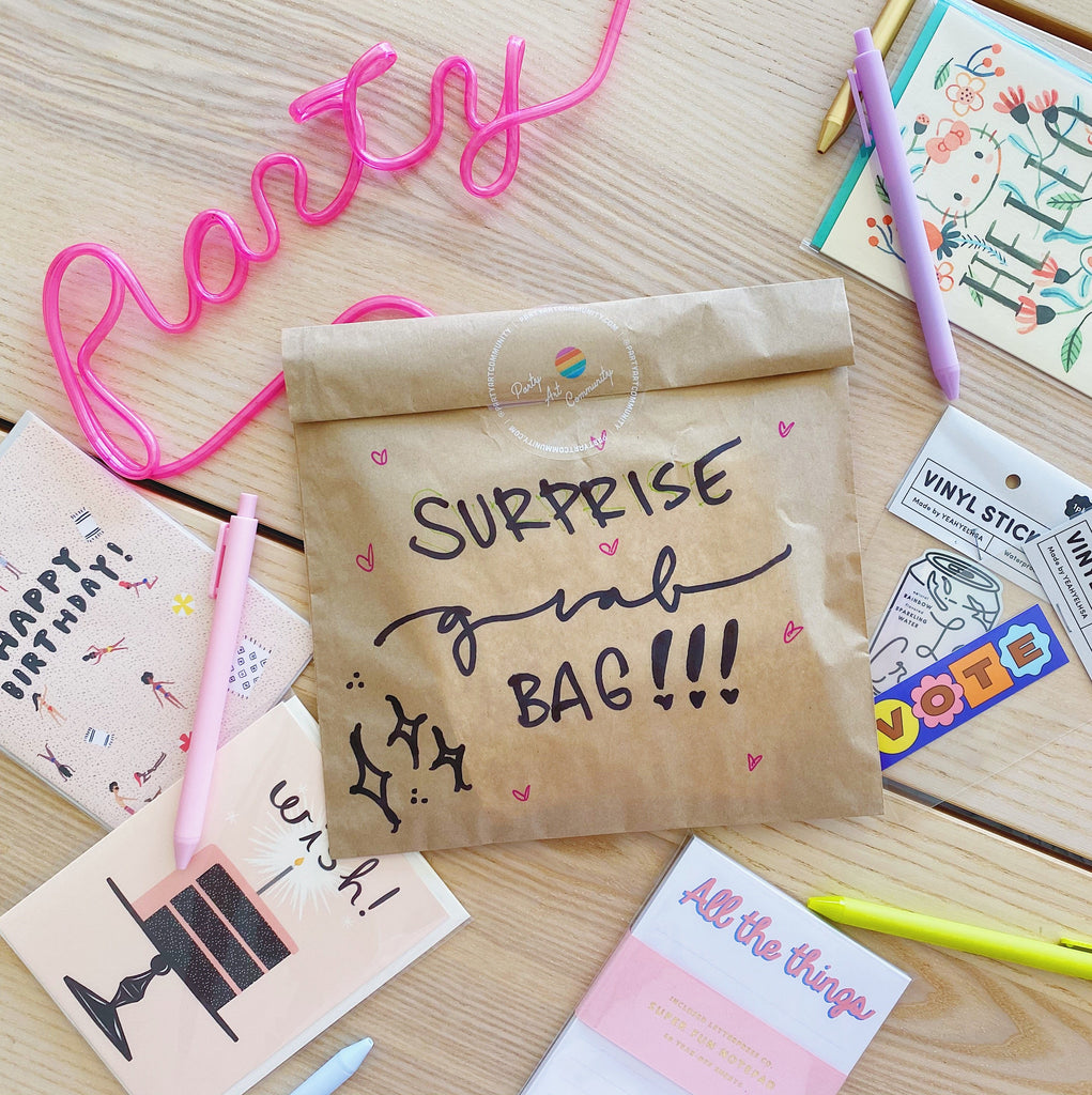 Surprise Mystery Stationery Grab Bag