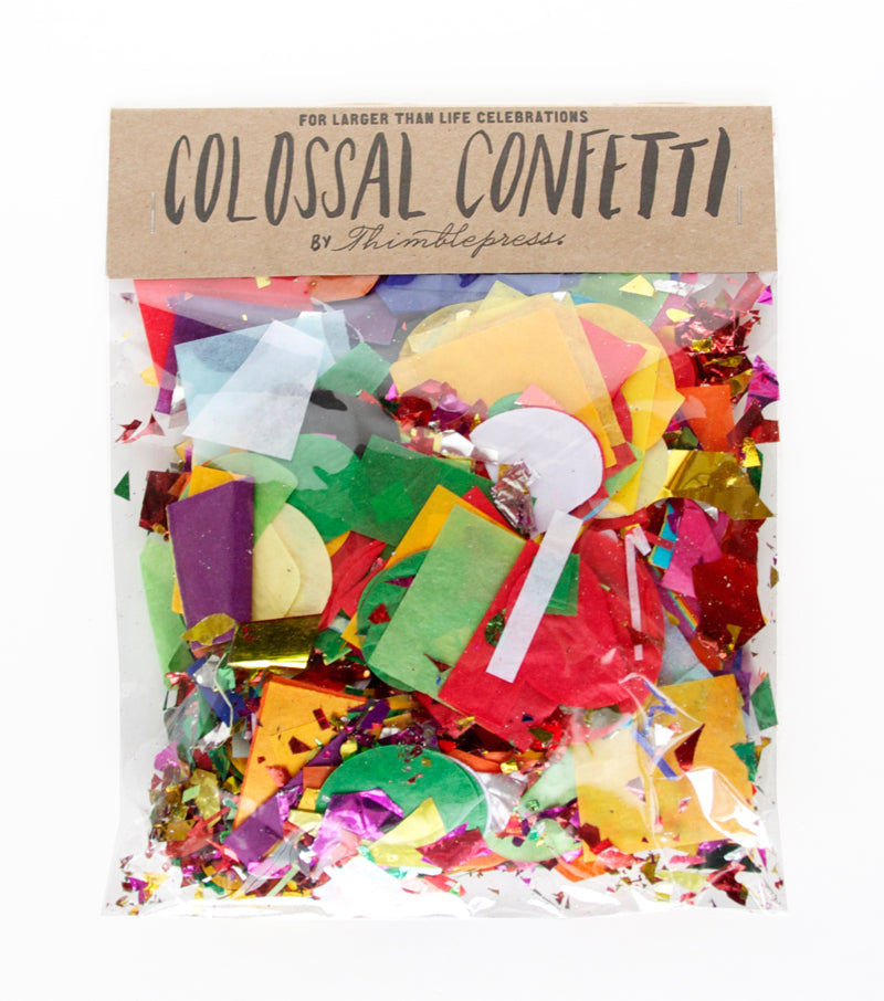 Colossal Confetti Bag
