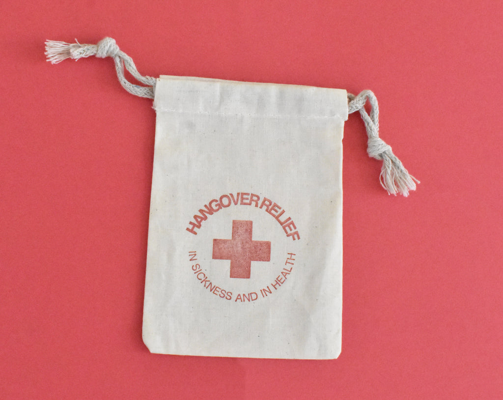 Hangover Relief Stamp Favor Bags