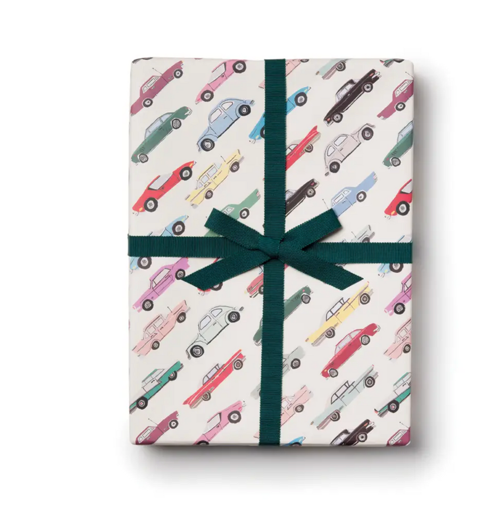 Cars Paper Gift Wrap