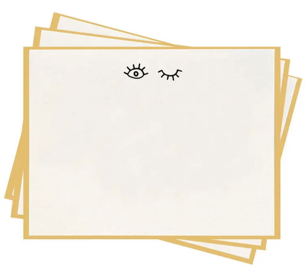 Wink Flat Notes - Set of 8