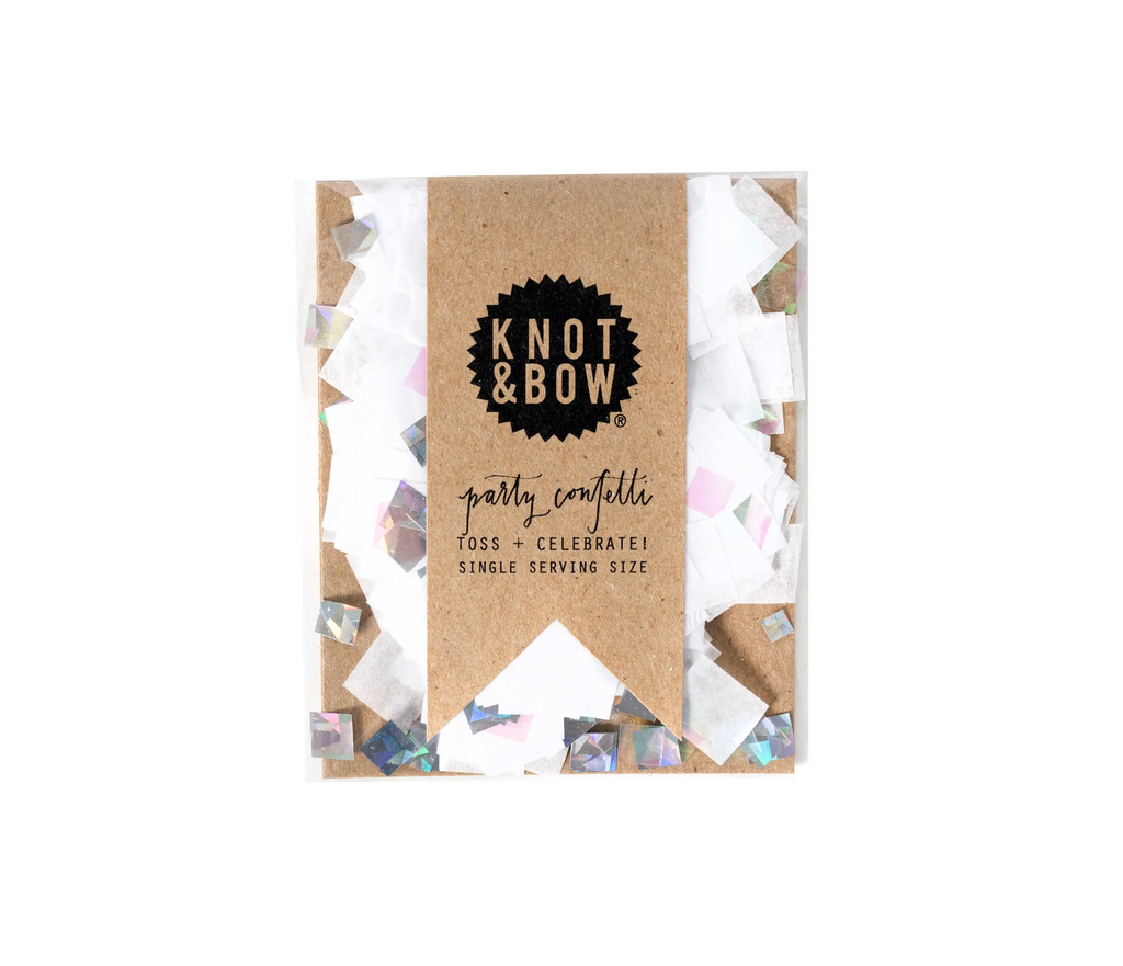 White Iridescent Single Serving Size™ Confetti