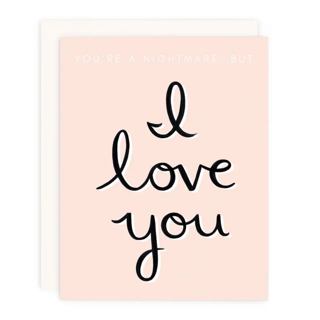 Nightmare But ILY Greeting Card