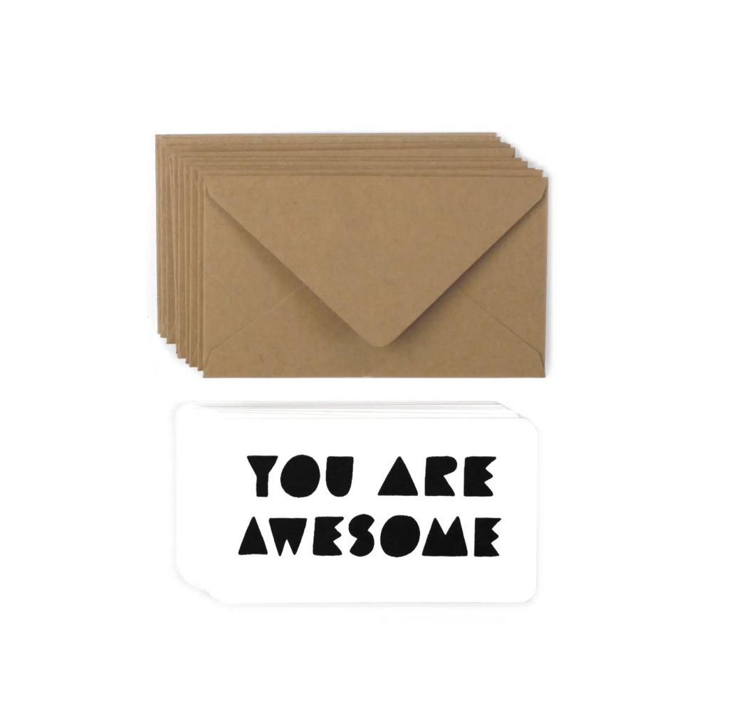 You Are Awesome Mini Note Set
