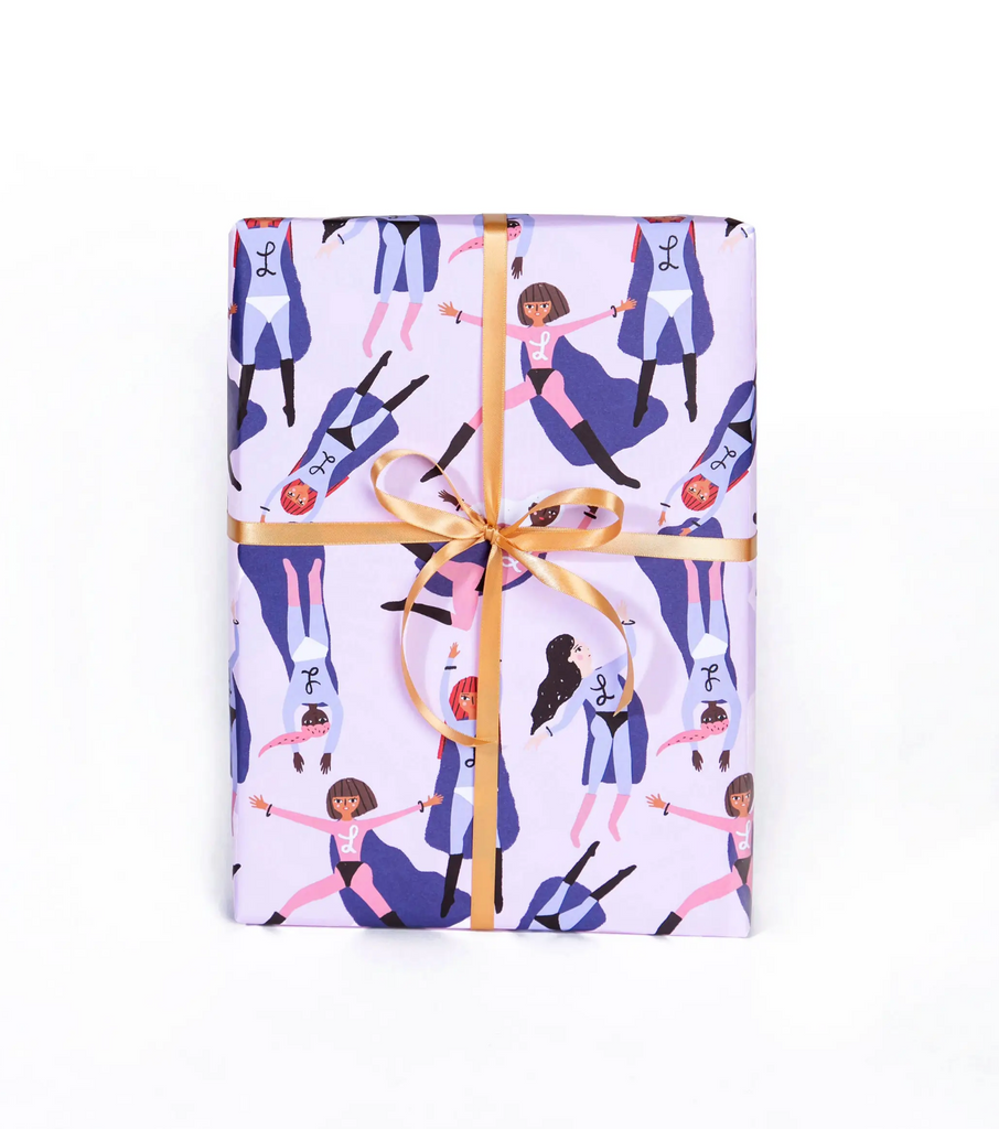 Superheroes - Gift Wrap Roll