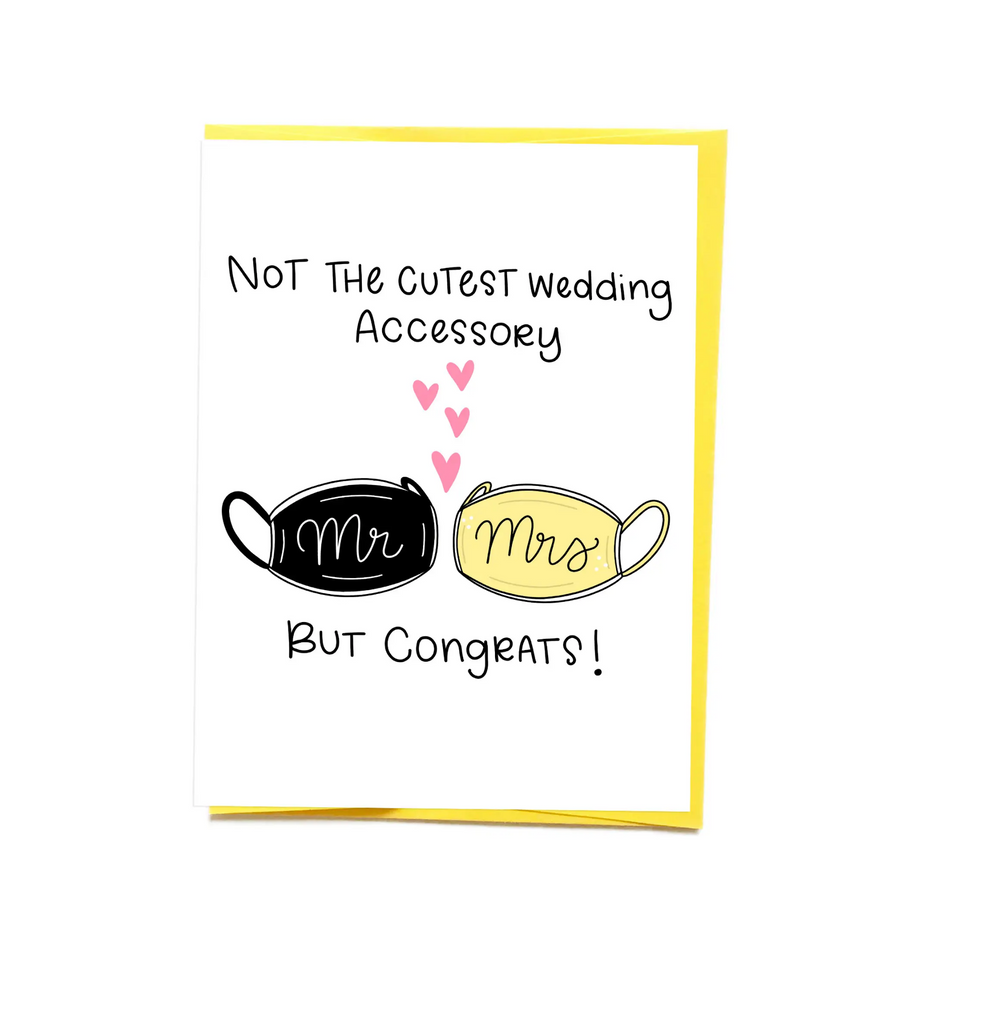 Quarantined Wedding Card