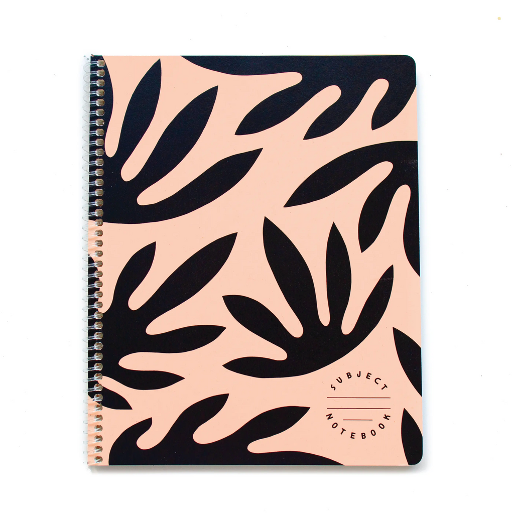 Leaves Subject Notebook
