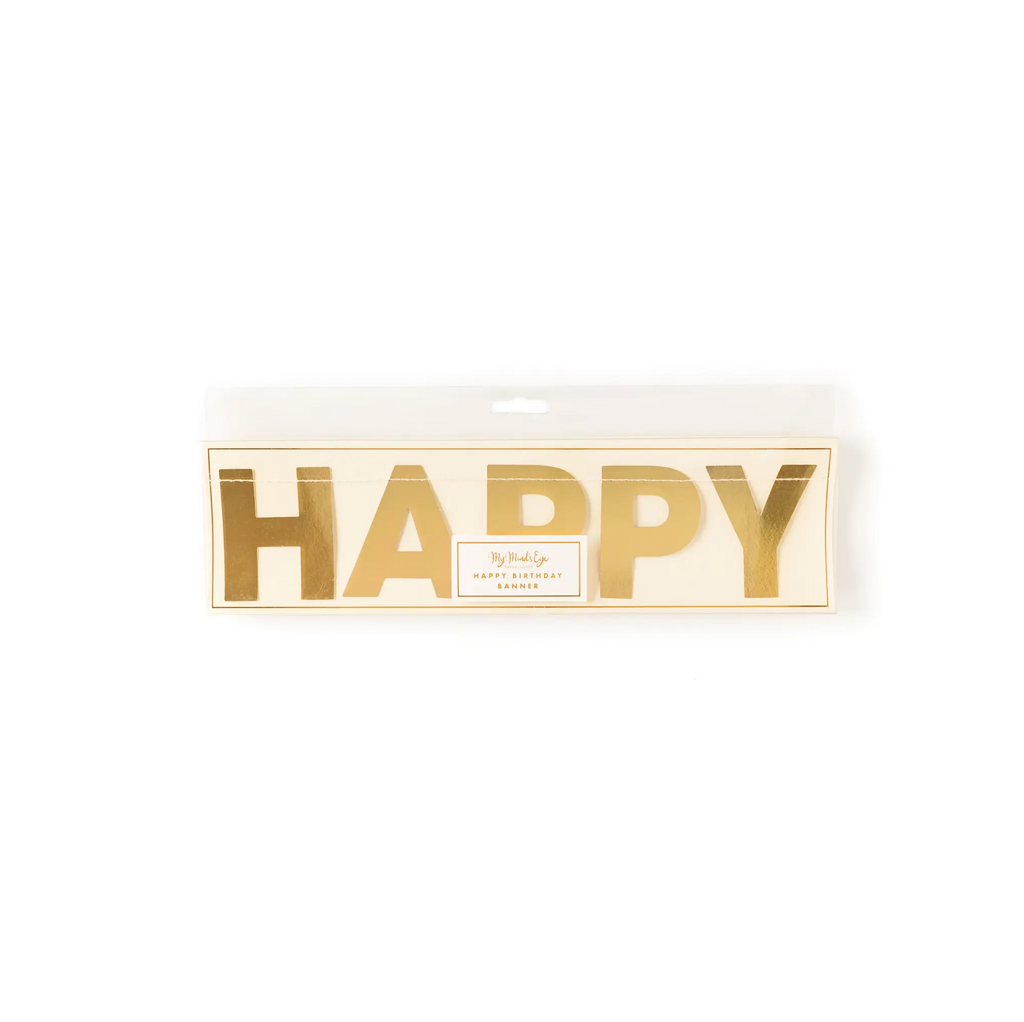 Basic Happy Birthday Banner
