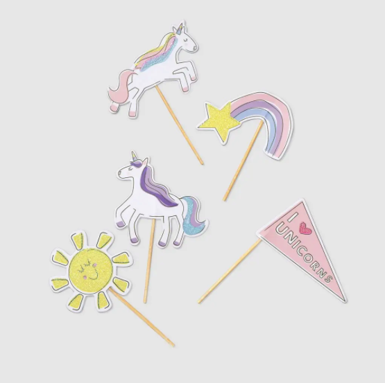 Unicorn Dreams Mini Toppers