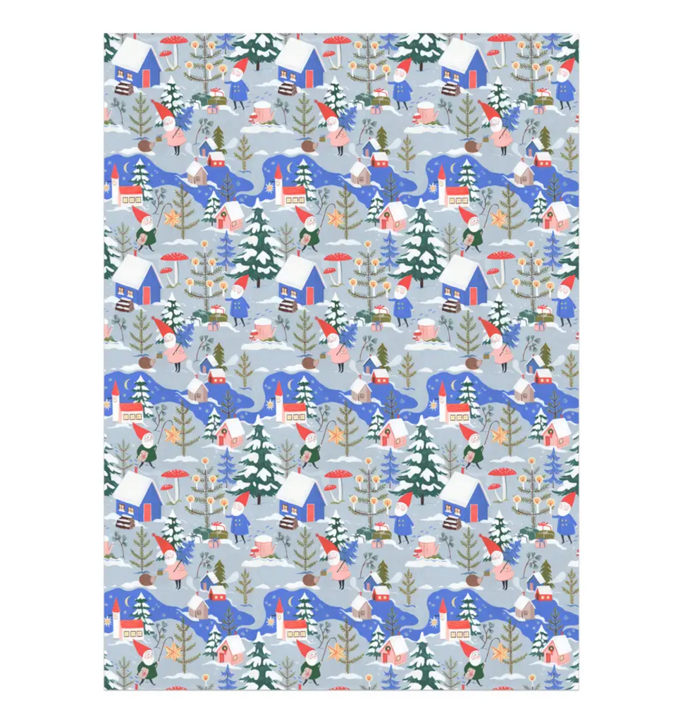 Holiday Gnomes Wrap
