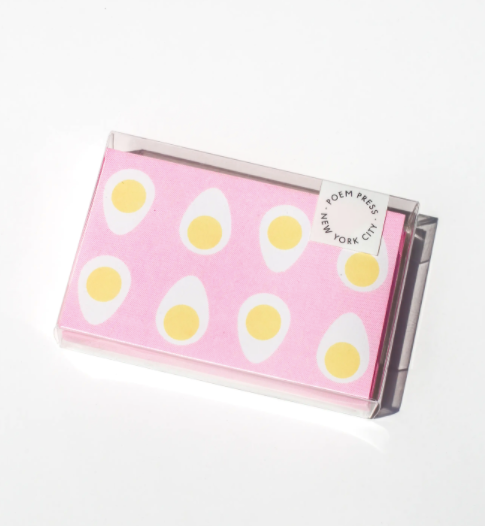 Pink Egg Card Set
