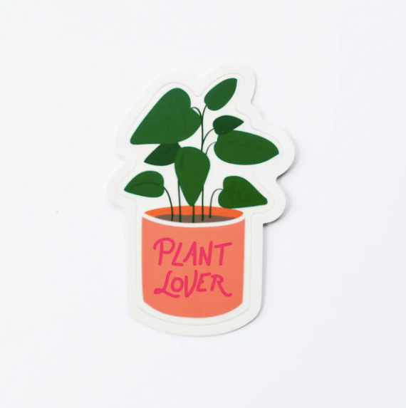 Plant Lover sticker